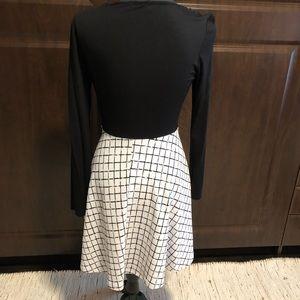 Sondra Faux Wrap Dress